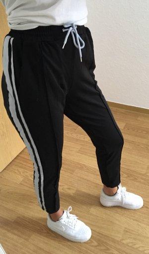Missguided Jogginghose / pants weiße Streifen
