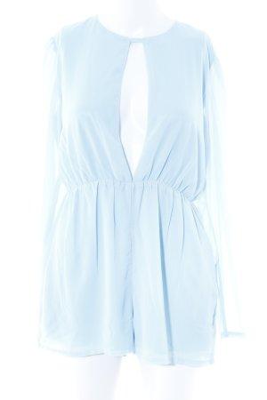 Missguided Jumpsuit himmelblau Elegant
