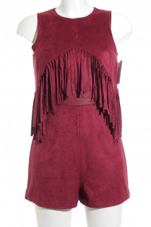 Missguided Jumpsuit purpur Boho-Look