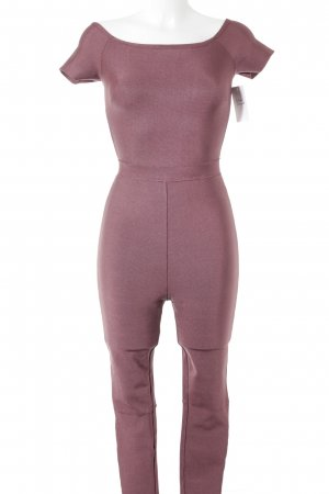 Missguided Jumpsuit purpur Casual-Look