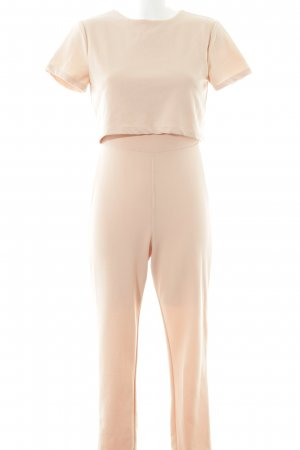 Missguided Jumpsuit rosé schlichter Stil