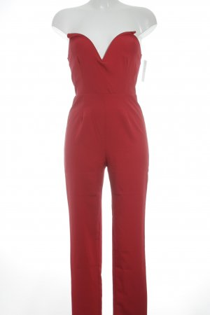 Missguided Jumpsuit rot Empire-Look