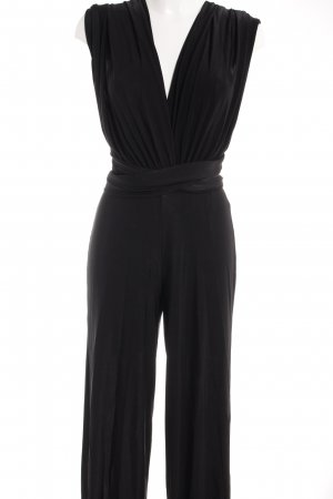 Missguided Jumpsuit schwarz Empire-Look