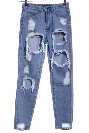 Missguided Wortel jeans blauw casual uitstraling