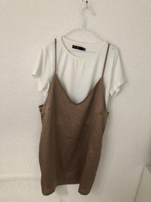 Missguided T-shirt jurk veelkleurig