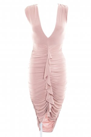 Missguided Kurzarmkleid roségoldfarben Elegant