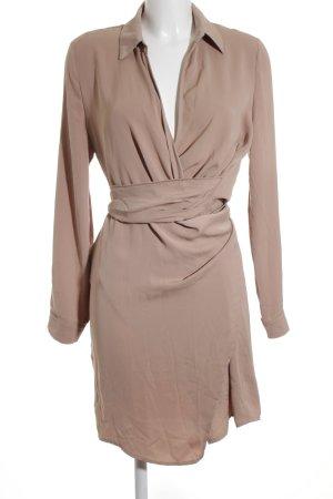 Missguided Long-Bluse roségoldfarben-altrosa Casual-Look