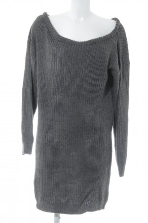 Missguided Longpullover dunkelgrau Casual-Look