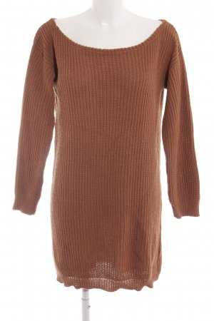 Missguided Long Sweater russet casual look