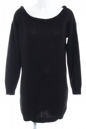 Missguided Long Sweater black classic style