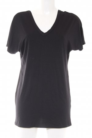 Missguided Longshirt schwarz schlichter Stil
