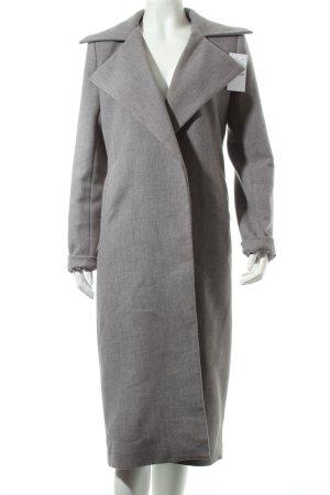 Missguided Mantel grau klassischer Stil