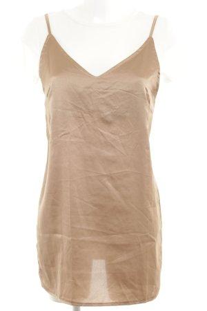 Missguided Minikleid beige-hellbeige Casual-Look