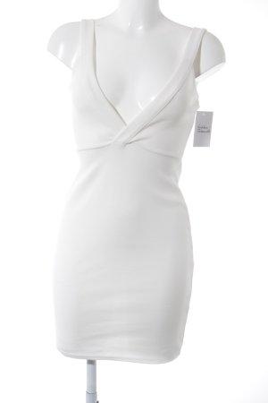 Missguided Minikleid weiß minimalistischer Stil