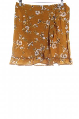 Missguided Minirock florales Muster Boho-Look