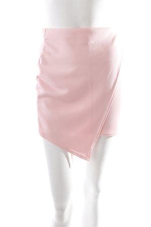 Missguided Minirock rosa Wickel-Look