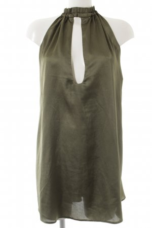 Missguided Neckholderkleid khaki Beach-Look