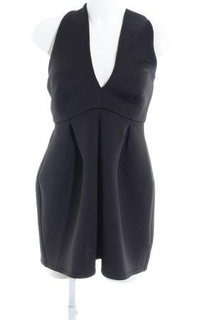 Missguided Neckholderkleid schwarz Elegant