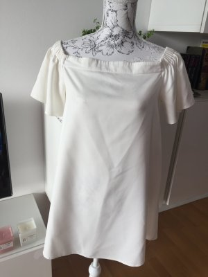 Missguided Off Shoulder Kleid weiß Gr. 40 / M/L super Zustand