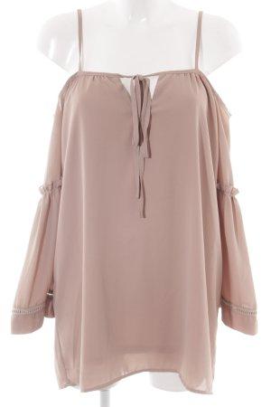 Missguided Blusa ancha rosa empolvado-rosa Poliéster