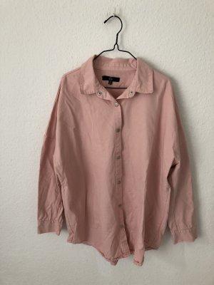 Missguided oversized Hemd Rosa