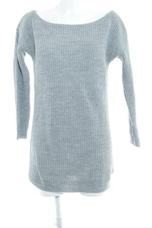 Missguided Pulloverkleid hellgrau Casual-Look