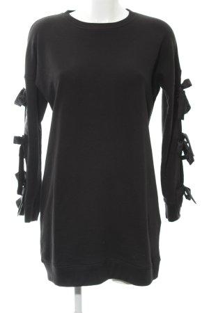 Missguided Pulloverkleid schwarz Elegant