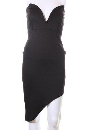 Missguided Schlauchkleid schwarz Elegant