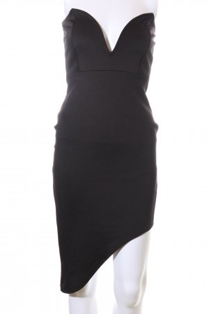 Missguided Vestido de tubo negro elegante
