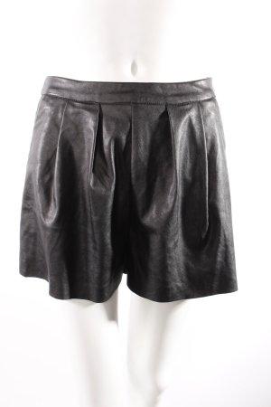 MIssguided Shorts in Lederoptik