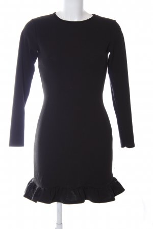 Missguided Vestido elástico negro estilo «business»