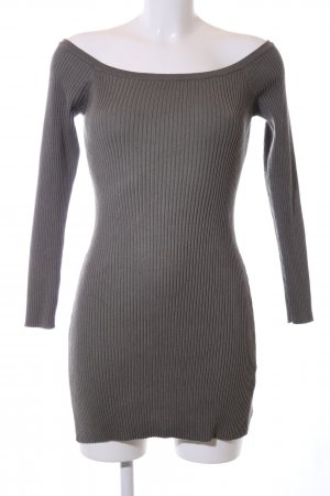 Missguided Knitted Dress light grey casual look