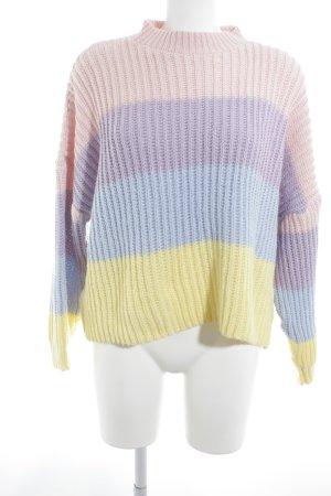 Missguided Maglione lavorato a maglia color block stile casual