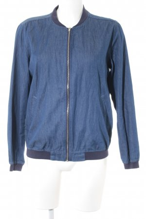 Missguided Sweatjacke blau Casual-Look