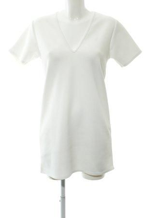 Missguided Sweatkleid weiß schlichter Stil