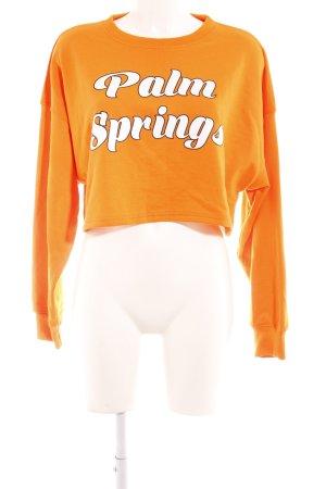 Missguided Sweatshirt Schriftzug gedruckt sportlicher Stil
