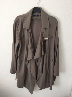 Missguided Trenchcoat Taupe