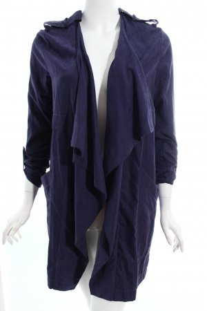 Missguided Übergangsjacke blauviolett Boyfriend-Look