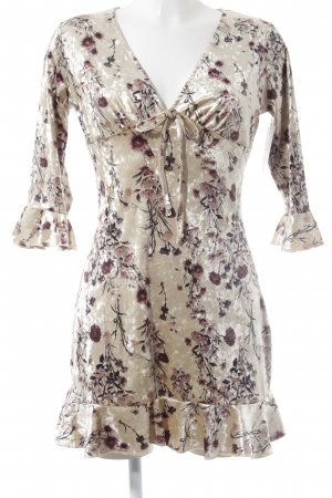 Missguided Volante jurk bloemenprint elegant
