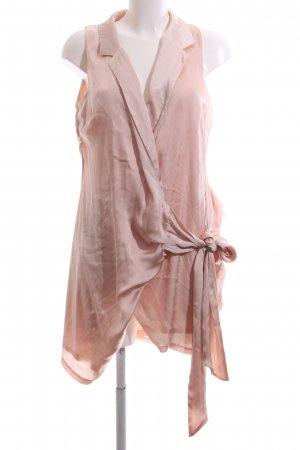 Missguided Wraparound Blouse nude casual look