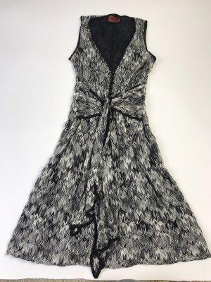 Missing Kleid Gr 34 schwarz weiß