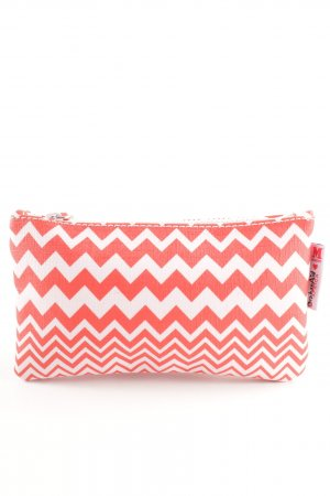 Missioni Home Pochette rot-rosé Zackenmuster Casual-Look