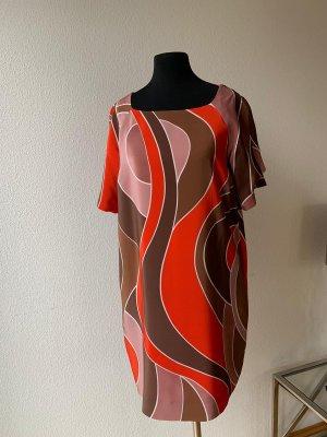 Missoni Shortsleeve Dress multicolored silk