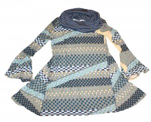 MISSONI auffällige Sommer Kleid Carmen Gr. 40