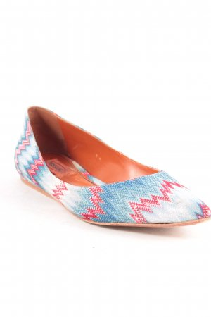 Missoni Ballerinas abstraktes Muster Casual-Look