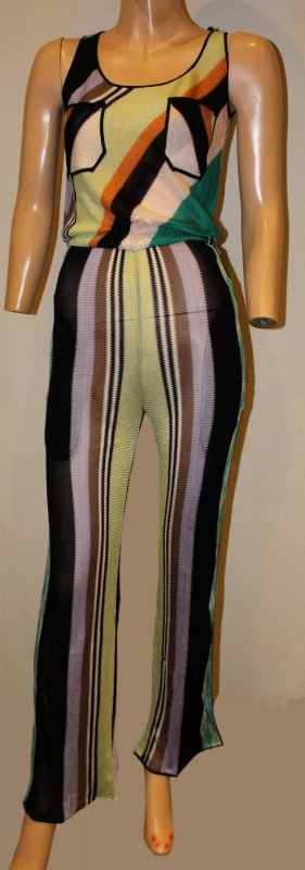 Missoni Beachwear Jumpsuite bunt Gr. 34/36