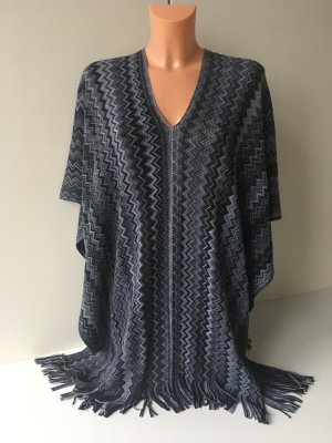 Missoni Cape Poncho Gr. One Size Zick Zack Muster NP 245€