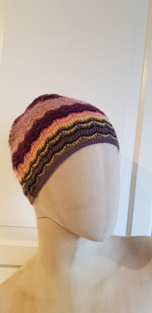 Missoni Beanie multicolored wool