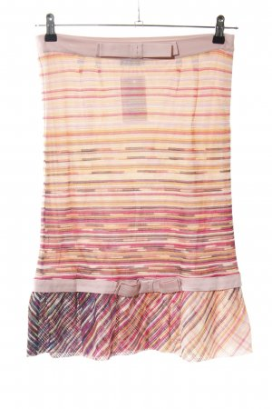 Missoni Flared Skirt abstract pattern casual look