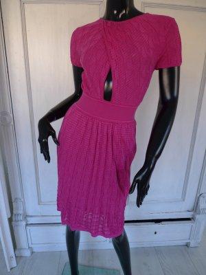 MISSONI , Grösse 34/36, Pink, Designer, Kleid, Baumwolle
